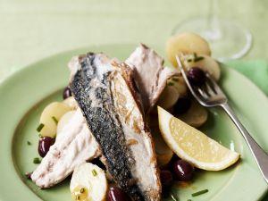 Makrelenfilets mit Kartoffeln Rezept