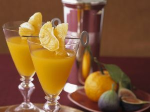 Mandarinen-Drink Rezept