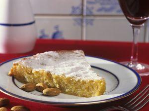Mandelkuchen auf portugiesische Art Rezept