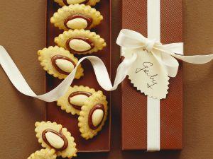 Backbuch: Plätzchen mit Mandeln