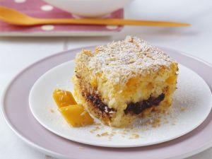 Mango-Reisauflauf mit Schokolade Rezept