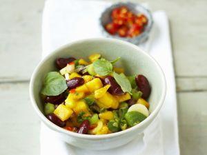 Mango-Salat mit Minze Rezept