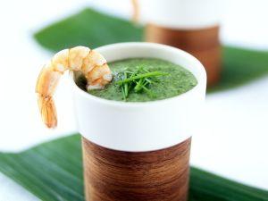Mangold-Kokossuppe mit Hähnchen Rezept