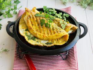 Mangold-Omelette Rezept