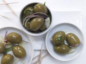Marinierte Fenchel-Oliven Rezept