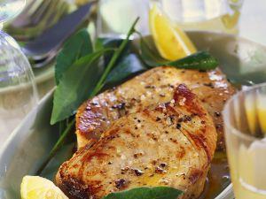 Marinierter gebratener Thunfisch Rezept