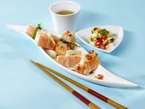 Marinierter roher Fisch (Ceviche) Rezept