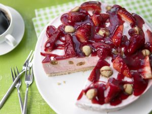 Kochbuch für Erdbeer-Torten