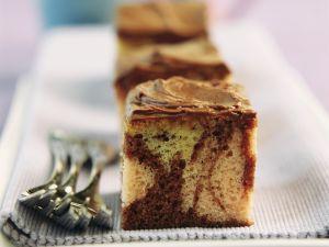 Marmorkuchen mit Schokoglasur Rezept