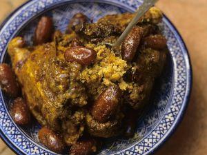 Marokkanische Lammkeule Rezept