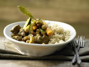 Marokkanischer Rindfleischtopf Rezept