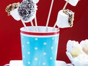 Marshmallow-Häppchen mit Schokolade Rezept