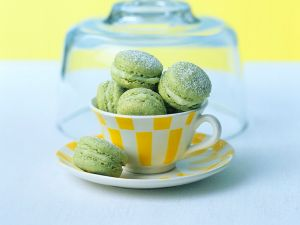 Matcha Macarons Rezepte