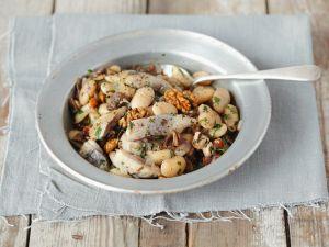 Matjes-Bohnensalat Rezept