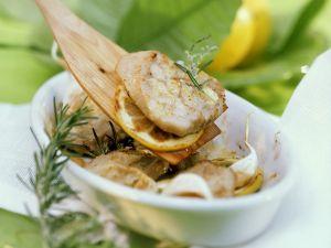 Mediterrane Kalbsschnitzel Rezept