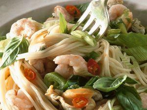 Meeresfrüchte-Pasta Rezept