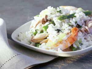 Meeresfrüchte-Risotto Rezept