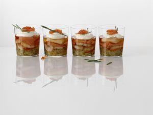 Meeresfrüchte und Fisch in Gelee Rezept