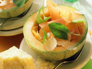 Melone mit Parmaschinken Rezept