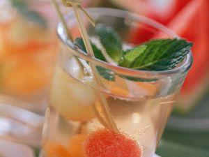 Melonen-Bowle Rezept