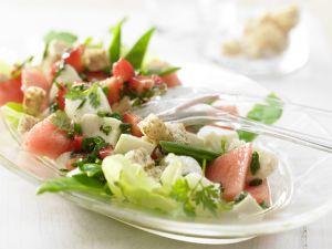 Melonen-Mozzarella-Salat Rezept