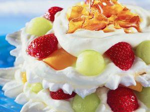 Meringue-Früchte-Torte Rezept