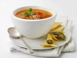 Mexikanische Bohnensuppe Rezept