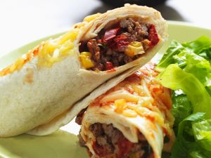 Mexikanische Burritos mit Hack Rezept