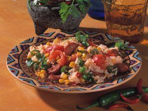 Mexikanische Reispfanne Rezept