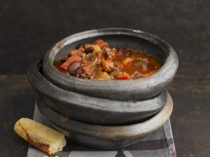 Mexikanischer Hackfleischeintopf (Chili con Carne) Rezept