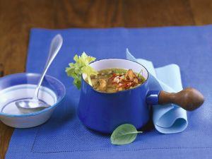 Muschel-Gemüsesuppe Rezept