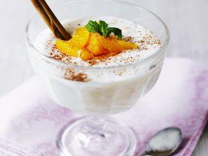 Milchreis mit Orangen Rezept