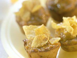 Mini-Muffins mit Cornflakedeko Rezept