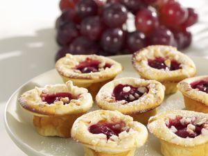 Mini-Muffins mit Trauben Rezept