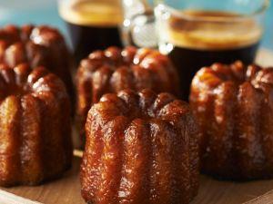 Minikuchen mit Vanille und Rum Rezept