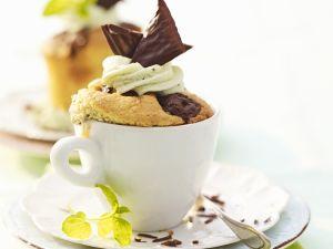 Minz-Schoko-Tassenkuchen Rezept