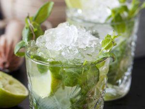 Minzcocktail mit Ingwer Rezept