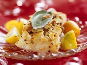 Mit Mandeln gratinierter Fisch Rezept