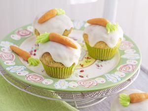 Möhren-Cupcakes Rezept