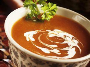 Möhren-Kokossuppe Rezept