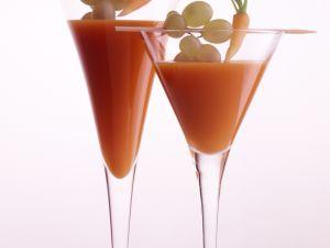 Möhren-Trauben-Drink Rezept