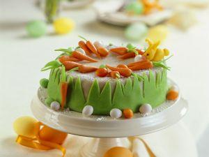 Möhrenkuchen mit Marzipan Rezept