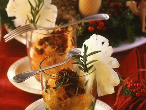 Möhrensalat mit Ananas Rezept