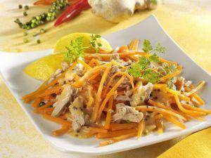 Möhrensalat mit Thunfisch Rezept
