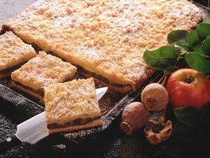 Mohn-Apfel-Kuchen mit Streuseln Rezept