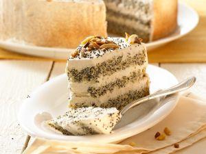Mohn-Mandel-Torte Rezept