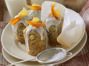 Mohnmuffins mit Ananas Rezept