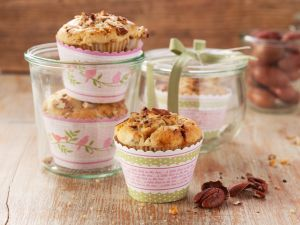 Muffins mit Pekannüssen Rezept