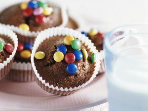 Muffins mit Schokolade Rezept