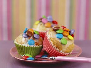 Muffins mit Schokolinsen Rezept